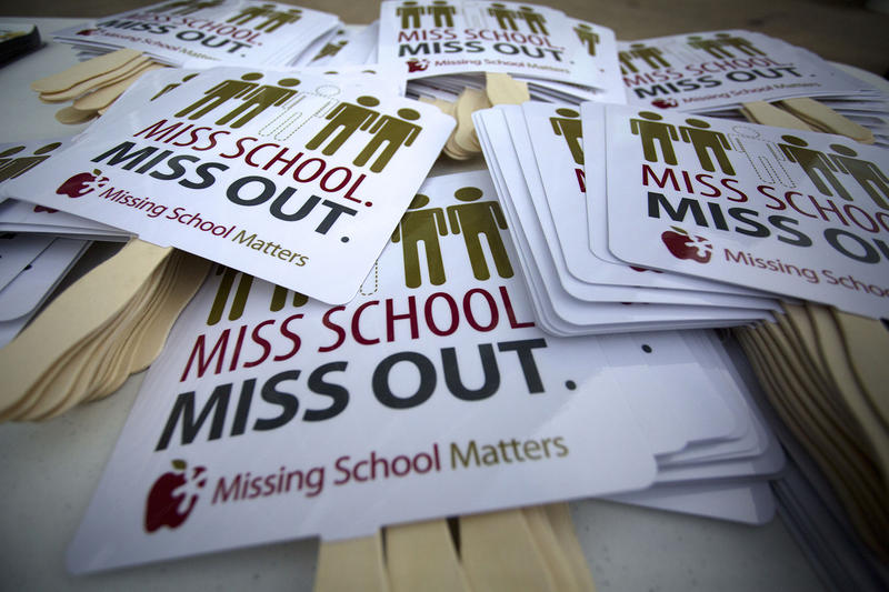 Missing School Matters fans at the annual E3 Alliance Attendance Rally.