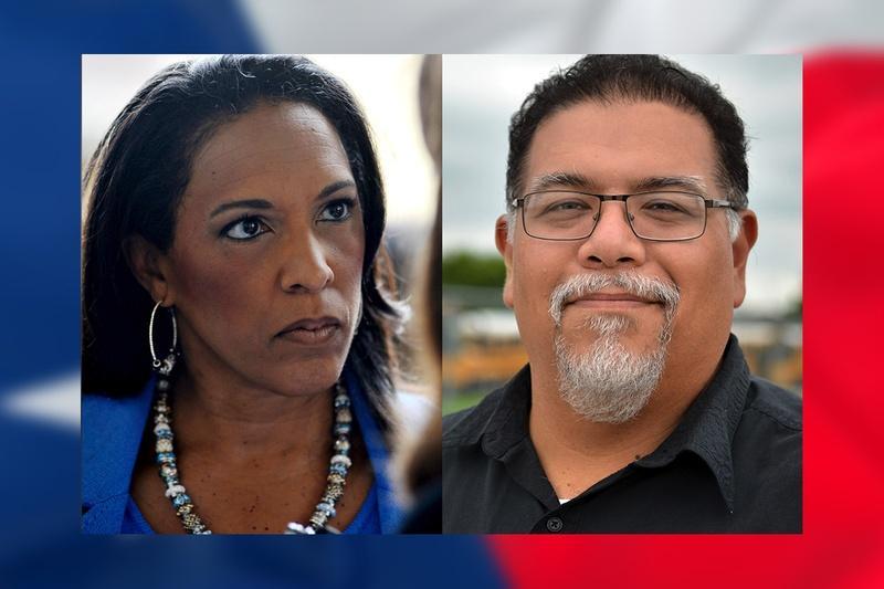 State Rep. Dawnna Dukes, D-Austin and Republican challenger Gabriel Nila.