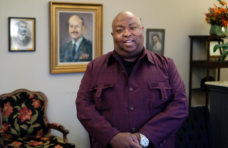 Barry J.W. Franklin of King Tears Mortuary has been in the funeral business since he was in high school.