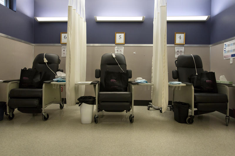 A recovery room at the Planned Parenthood South Austin Health Center.
