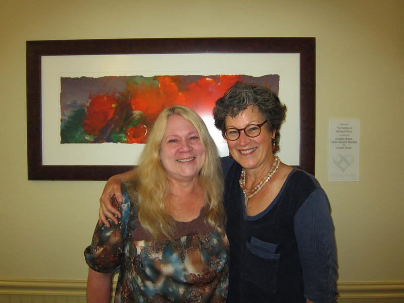 Jan Phillips (left) and Nancy McCranie (right)