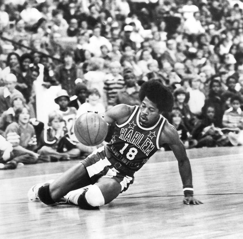 Former Longhorn Jimmy Blacklock played for the Harlem Globetrotters from 1974-1987 and now coaches the team.