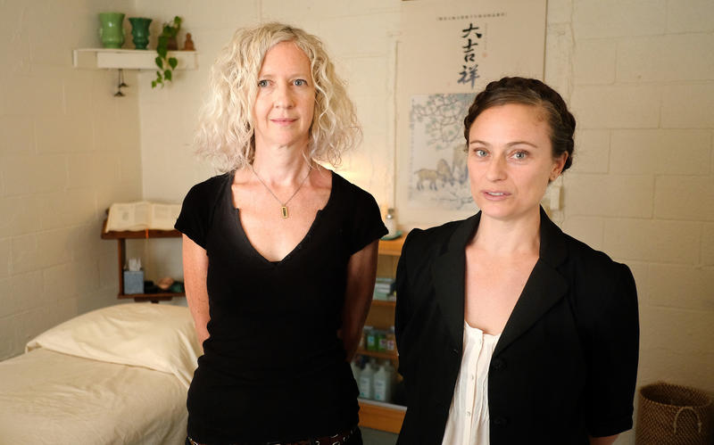 Kathy Duffy and Vivian Linden are co-owners and practitioners of Rosewood Acupuncture & Ayurveda on Chicon Street in East Austin.