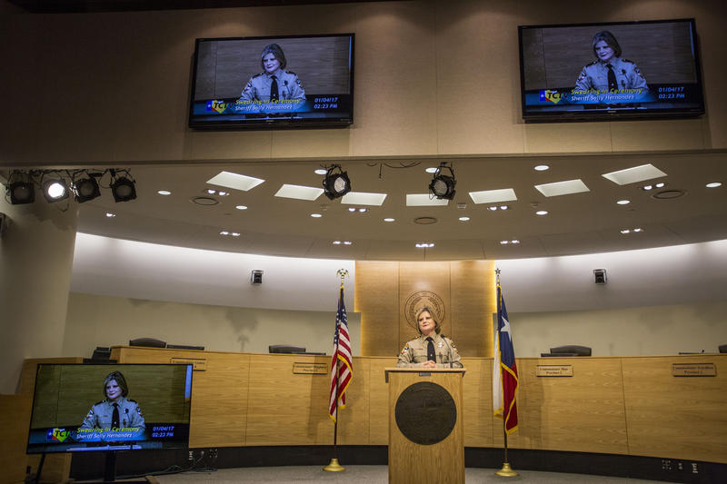 Travis County Sheriff Sally Hernandez is under attack by the governor for a new policy refusing to recognize all detainer requests from federal immigration agents.