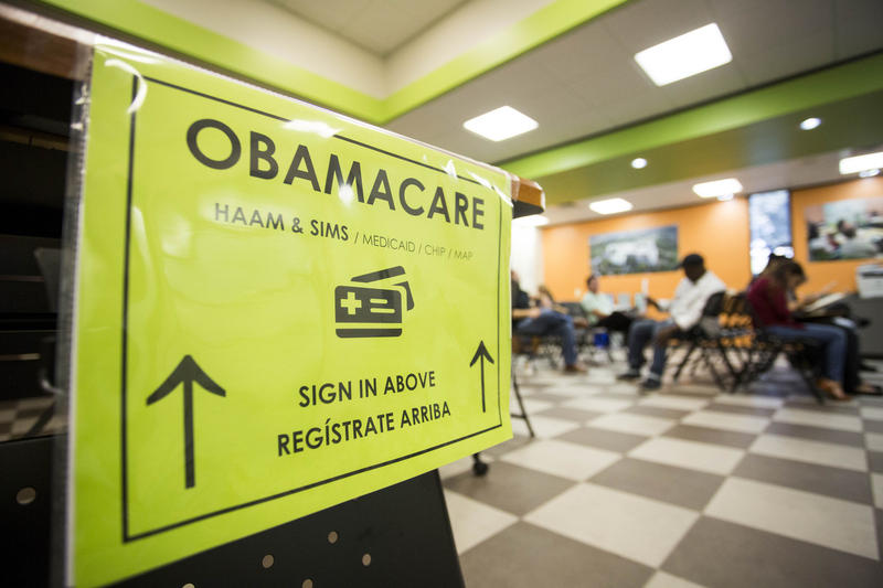 Austinites seek enrollment with the Affordable Care Act at Foundation Communities' Community Tax Center in North Austin.