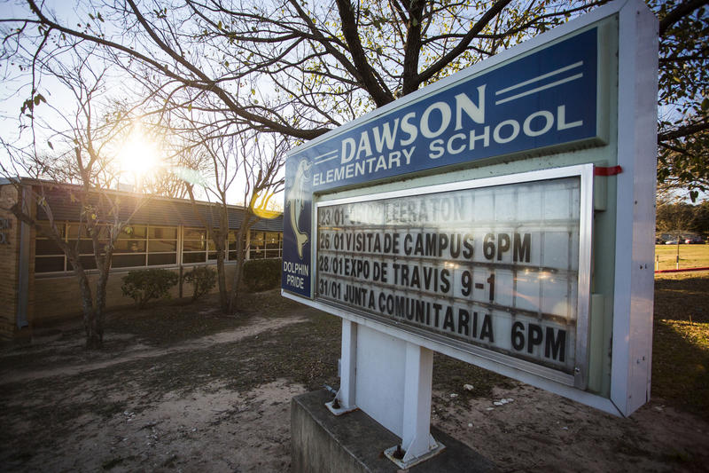 Dawson Elementary School is on the list of schools slated for possible closure.