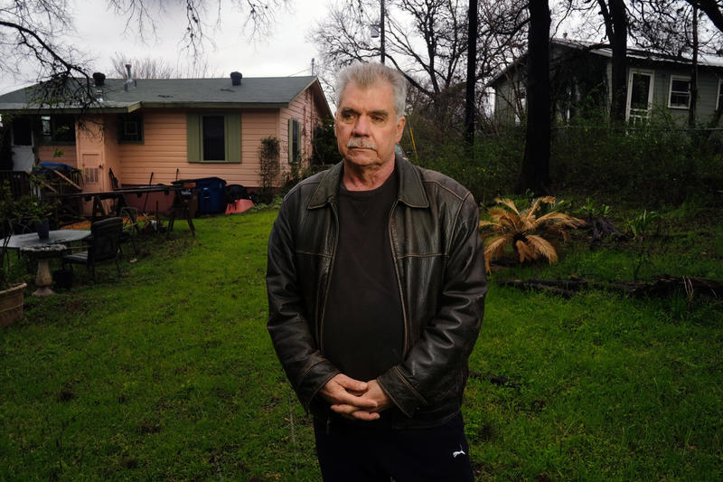 Danny Fowler is trying to get his neighborhood, Ebony Acres in East Austin, designated as a historic district.
