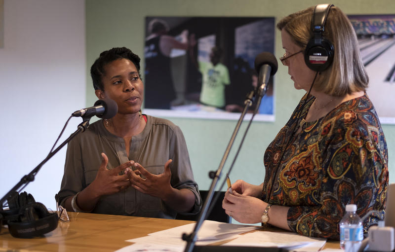 Nefertiti Jackmon, executive director of Six Square, speaks with KUT's Jennifer Stayton.