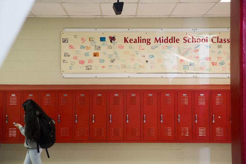 Kealing Middle School in East Austin reopened in the mid-1980s as a neighborhood school with a magnet program.