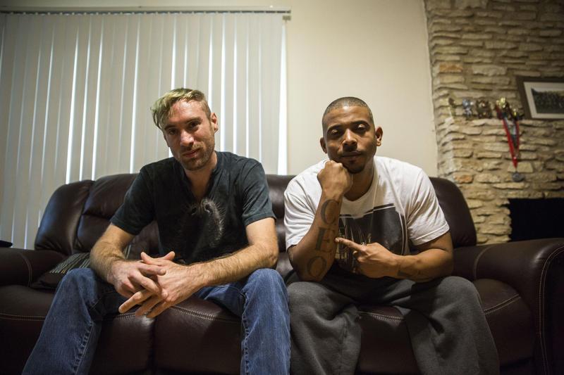 Lifelong friends Matthew Kleinman and Andreas Mueller grew up in East Austin.