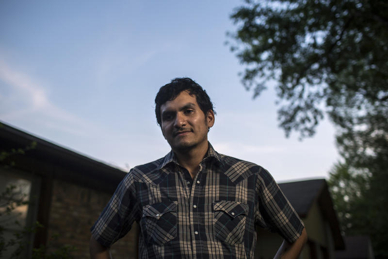 Austinite Sam Anderson-Ramos worries that when he's ready to buy a home, he won't be able to afford to live in the neighborhood he grew up in.