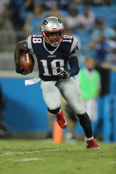 New England Patriots special teams captain Matt Slater was the recipient of the 2017 Bart Starr Award, given to the NFL player who best exemplifies character and leadership on and off the field.