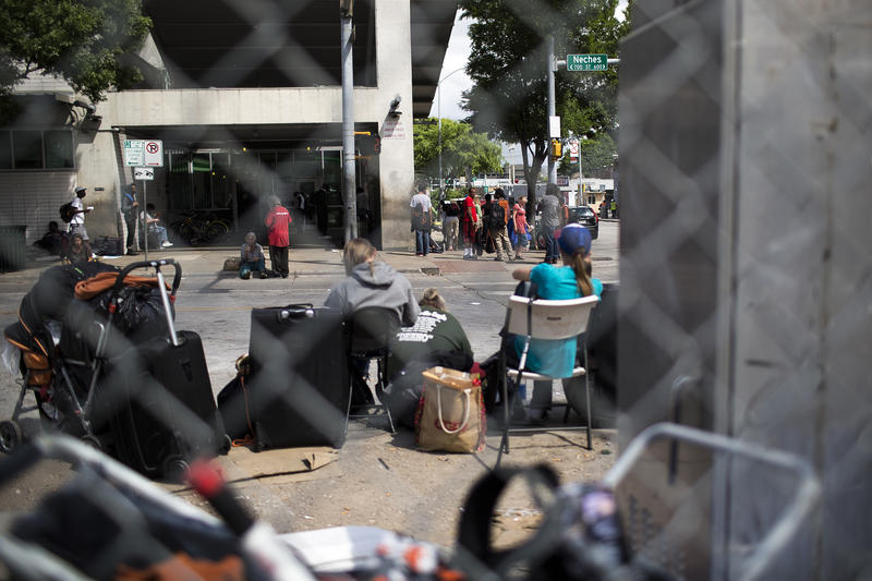 A new report found that the number of homeless people in Travis County with substance abuse problems doubled in the past year.