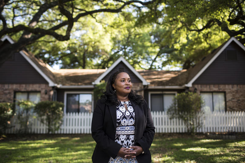 Real estate agent Socar Chatmon-Thomas says there used to be nothing in the Riverside neighborhood of Austin. Now, one-bedroom apartments go for about $1,000 a month.