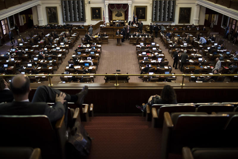 "The Texas House of Representatives debates Senate Bill 4, which would clamp down on ""sanctuary"" jurisdictions."