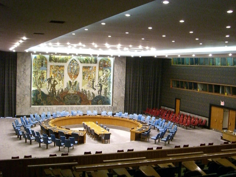 U.N. Security Council chamber