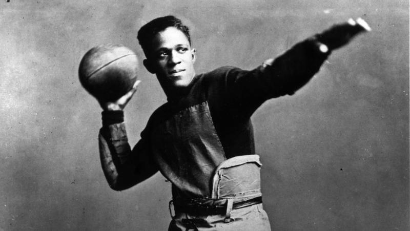 """Frederick Douglass """"Fritz"""" Pollard was the first African-American coach in the National Football League."""