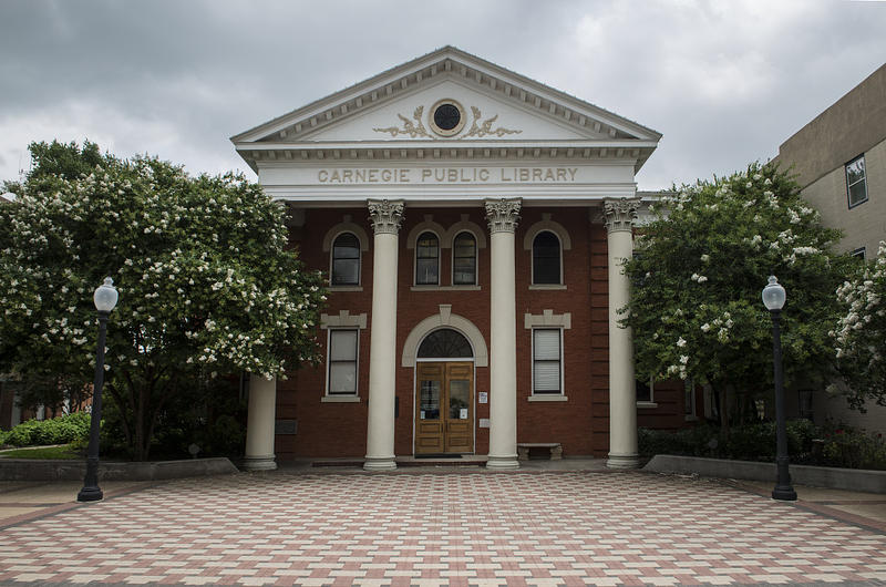 The Carnegie Library in Bryan, Texas is one of the oldest libraries in the state.