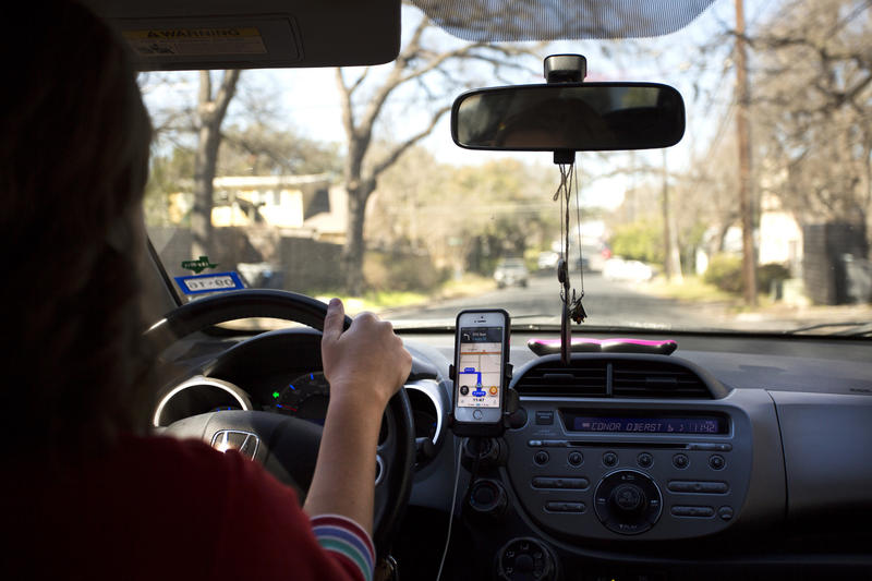 The Texas Senate approved a statewide ride-hailing bill that would require name-based background checks and an annual licensing fee.