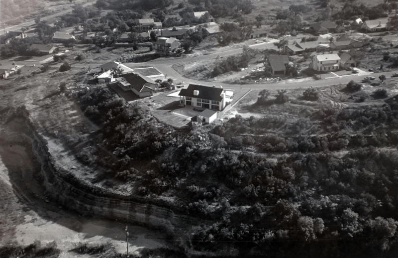 An overhead view of Convict Hill in 1983.
