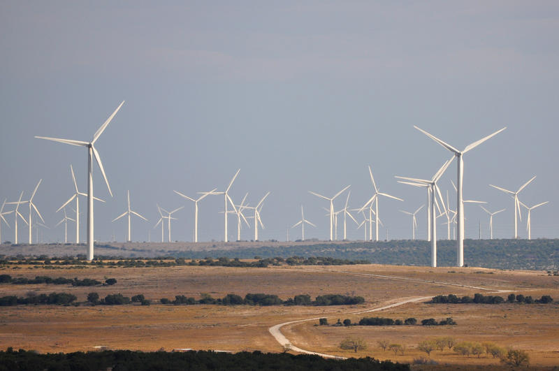 The federal government is underestimating growth in renewable energy sources like wind power.