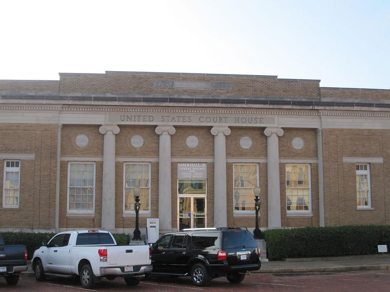 The Sam B. Hall Jr. U.S. Courthouse in Marshall, Texas, where many a patent fight has been fought.