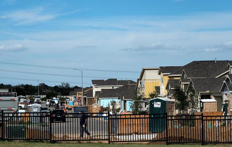 The Easton Park affordable housing development in Southeast Austin.