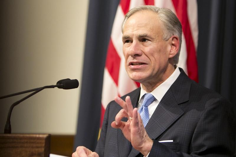 Gov. Greg Abbott lays out his agenda for a special legislative session last week.