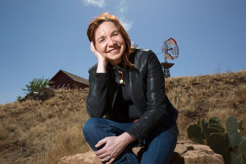 Climate scientist Katharine Hayhoe photographed at the National Ranching Heritage Museum in Lubbock, TX on April 16, 2014.