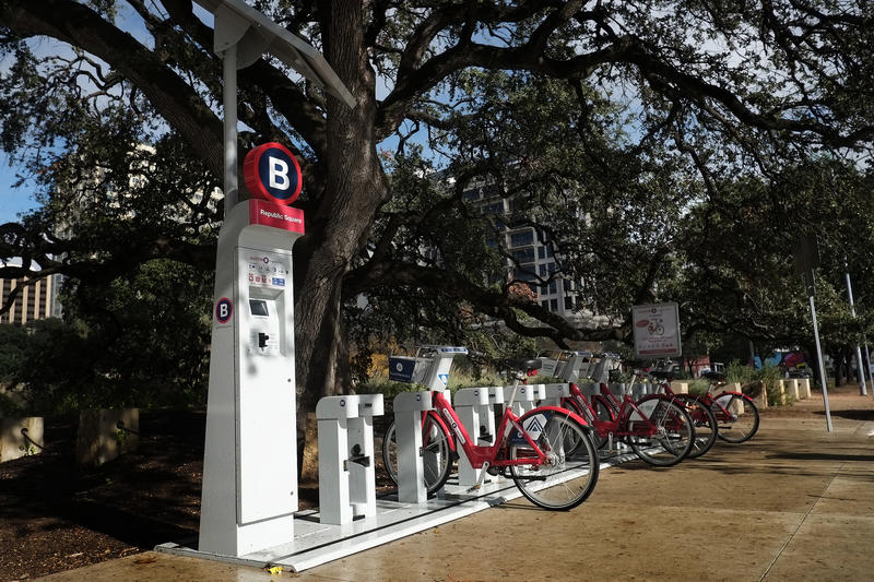 Austin B-cycle is adding another 18 docking stations over the next 18 months.