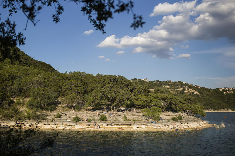 Folks have been coming to swim naked at Hippie Hollow, on the shore of Lake Travis, for decades.