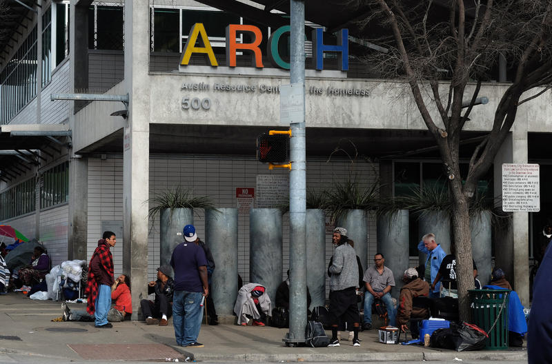 Mayor ProTemKathieTovo says overcrowding at downtown shelters has led to harsh conditions for people experiencing homelessness.