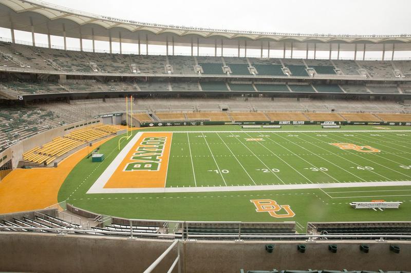 McLane Stadium at Baylor University.