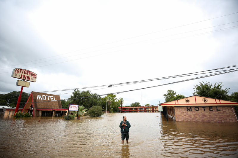 Colorado River Swamps La Grange Motel Housing Harvey ...