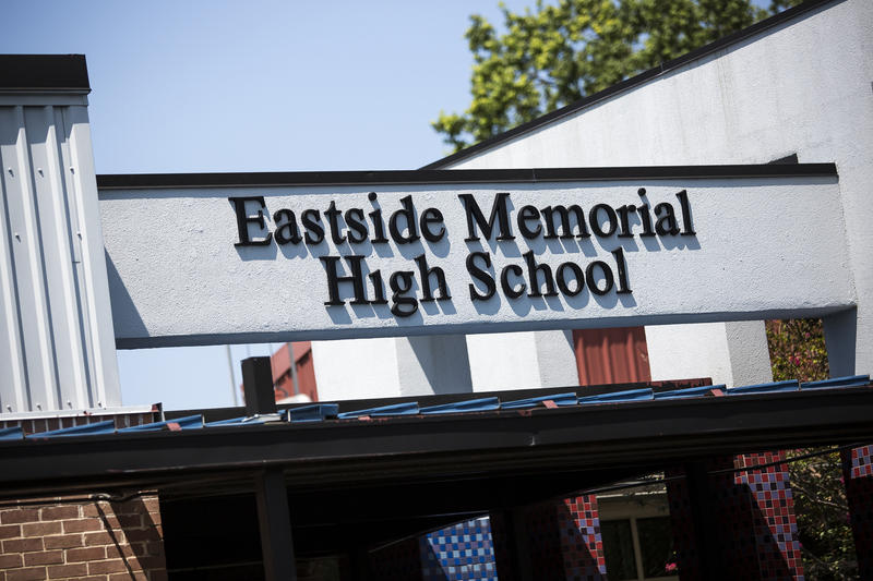 Under an Austin ISD bond proposal, Eastside Memorial would move to the old Anderson High, and LASA would move into Eastside.