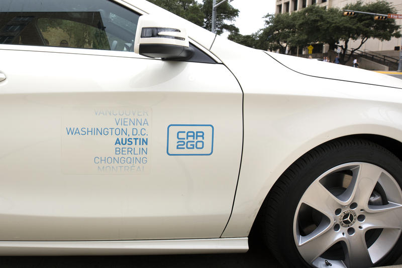 Car2go is phasing out its Smart cars in Austin and will offer a Mercedes-only fleet by December.