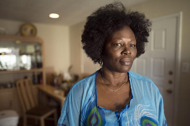 Annette Price was turned away from several apartments in Austin because of a decades-old criminal conviction.