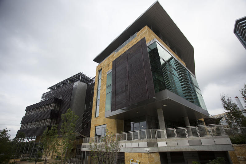 The city's new public library is opening on Saturday.