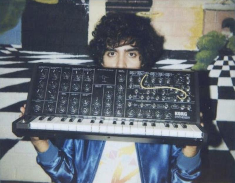 Neon Indian's Alan Palomo will be doing a DJ set Saturday at Kingdom