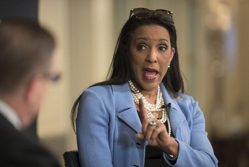 State Rep. Dawnna Dukes, D-Austin, says she's healthy enough to serve another terim in the Texas House, during a conversation with The Texas Tribune on Tuesday.