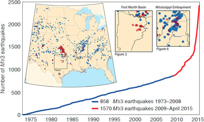 A new study takes a look back millions of years to show how humans have caused quakes where there were none before.