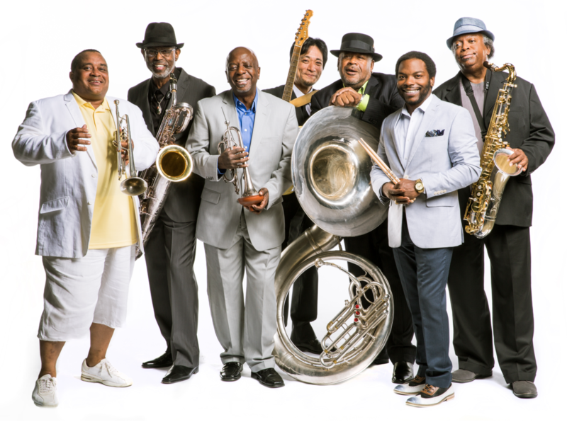 The Dirty Dozen Brass Band out of New Orleans is performing at Antones on Friday night.
