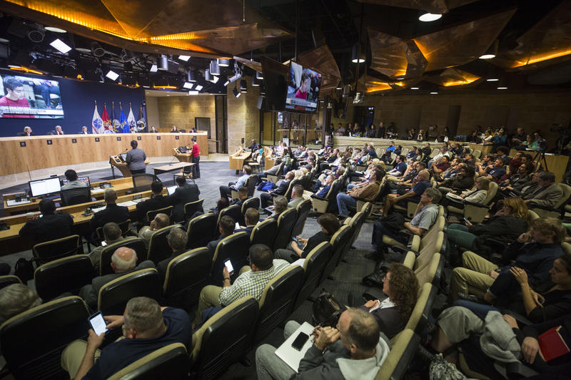 After hours of deliberation, the Austin City Council rejected a five-year contract between the Austin Police Department and the city last night.