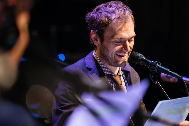 """Live from Here"" host Chris Thile"