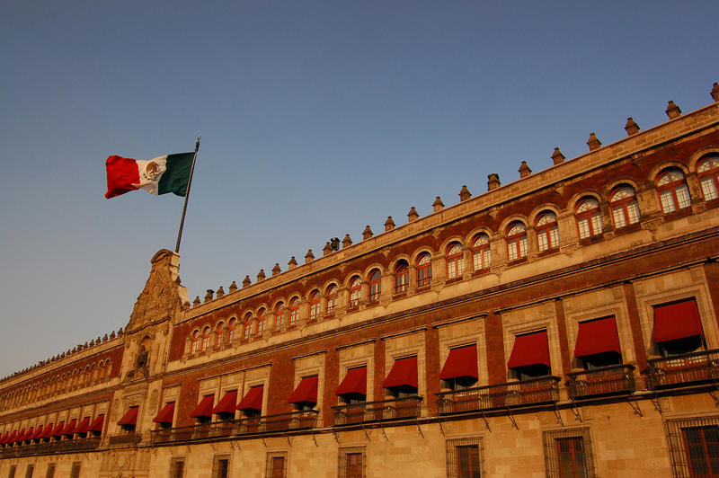 Mexico's national palace