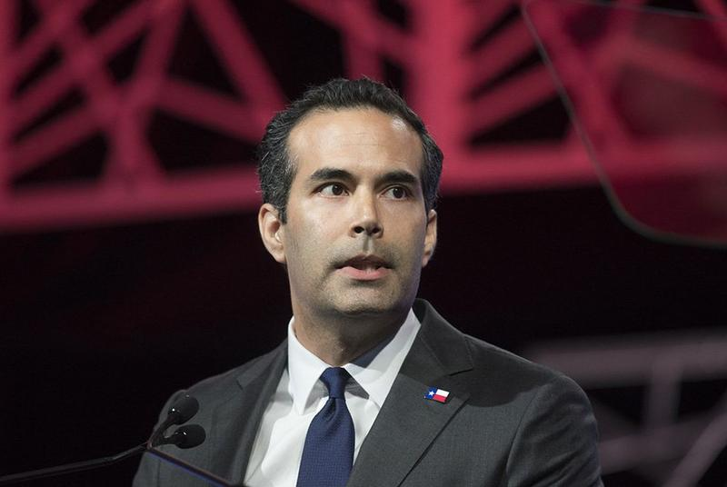 Texas Land Commissioner George P. Bush at the GOP state convention in Dallas in 2016.
