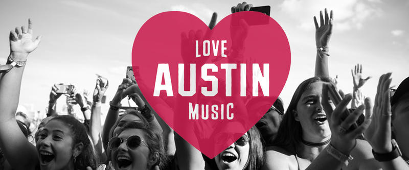 """February is """"Love Austin Music Month."""""""