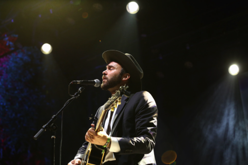 Shakey Graves performs at Old Settler's Music Festival last year.