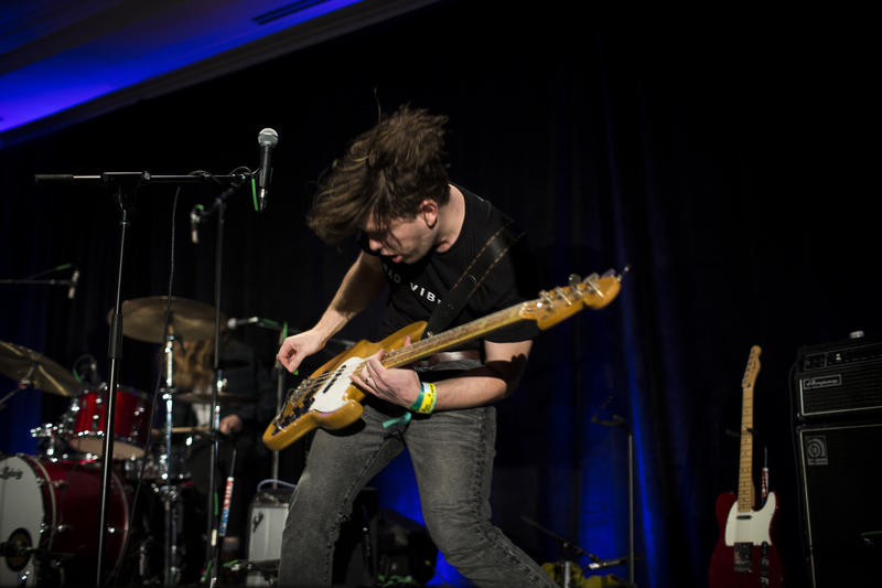 Middle Kids perform at the 2017 KUTX SXSW Live at the Four Seasons concert series