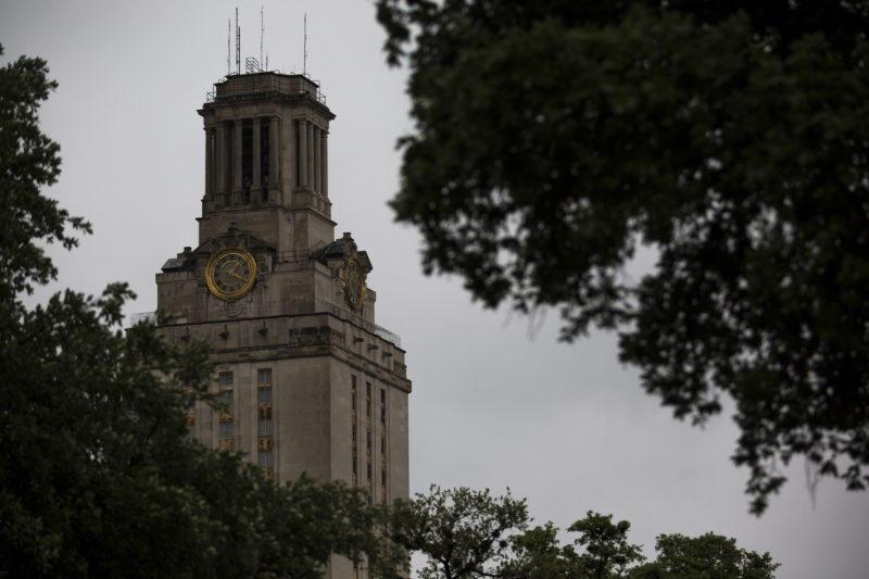 The UT Tower in Austin.